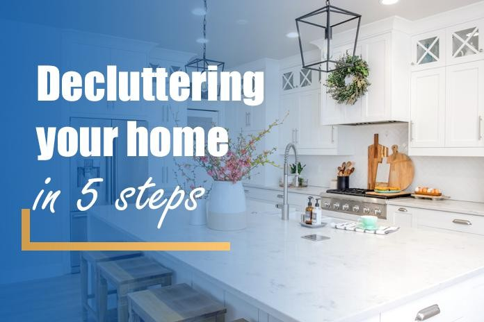 Decluttering Your Home In 5 Steps